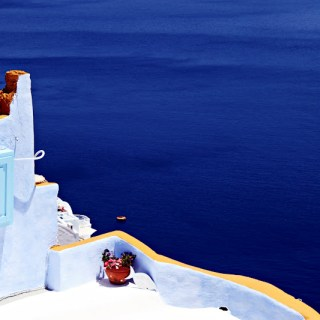 Greek Island Bliss: Blue, blue & blue