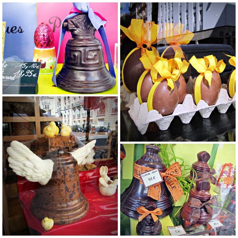 Cloches de Pâques en chocolat Paris