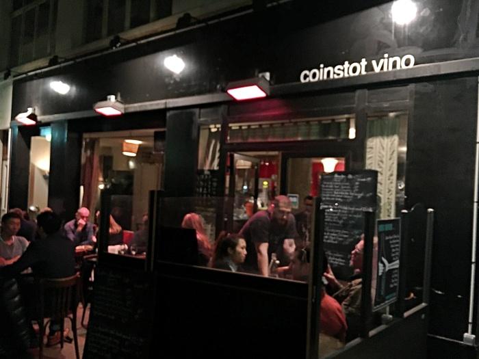 Coinstot Vino, Paris