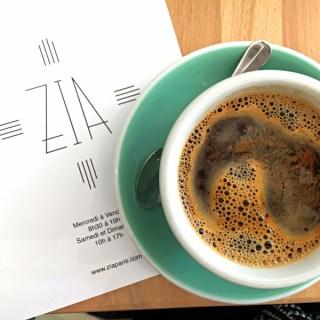 Zia Coffee Paris