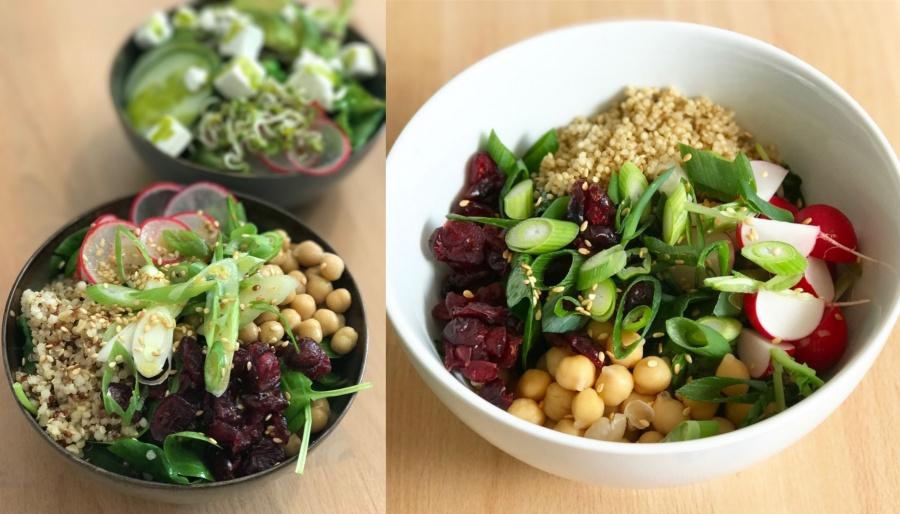 Zia Lunch Salads Paris