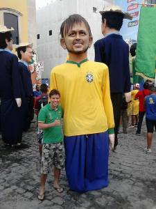 Edwin at the World Cup