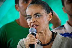 Marina Silva, Photo Credit: Talita Oliveira, Flickr CC