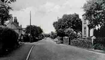 Romsley Village Worcestershire 1950
