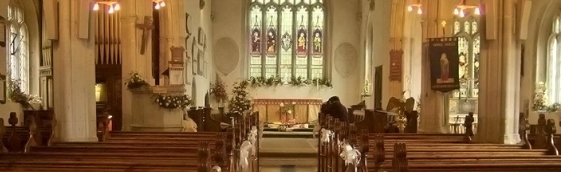 All Saints Interior Slider
