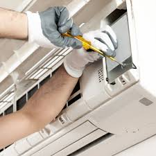 repairing an air conditioning unit