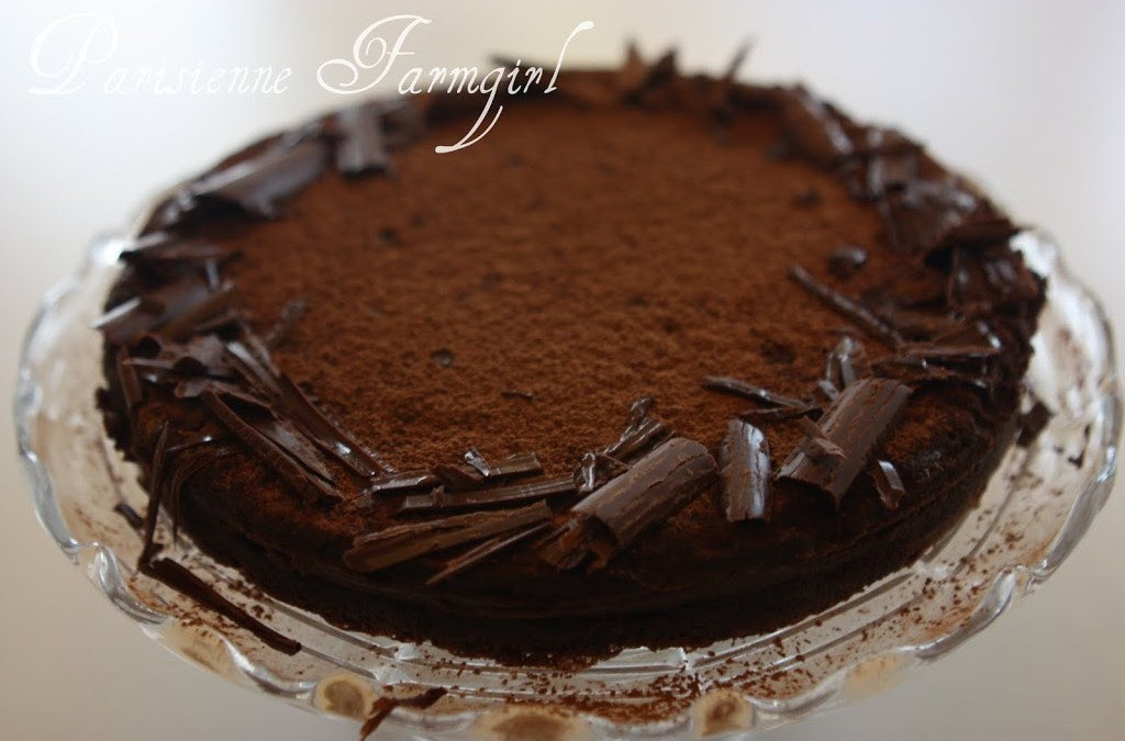 Flourless Chocolate Cake/ Tarte au Chocolat | Parisienne Farmgirl