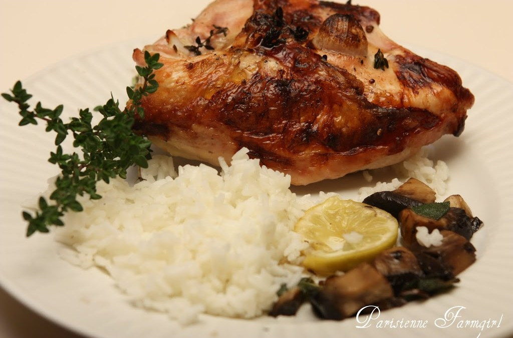 Today in the Kitchen – Chicken au Champagne