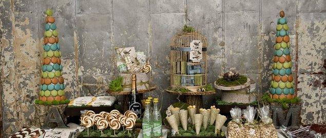 A Chic, Woodland Bridal Shower…