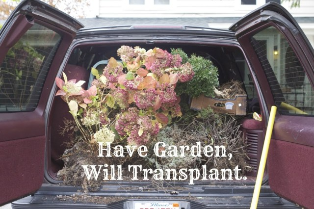 Have Garden, Will Transport truck with flowers
