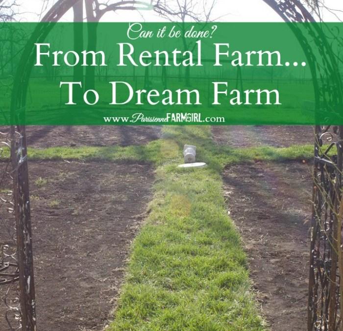 Rental Farm Makeover!