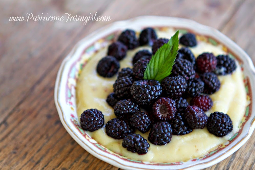 Foraging on the Farm (The Brambleberries with Custard Recipe)