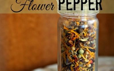 FLOWER POWER… Flower Pepper!