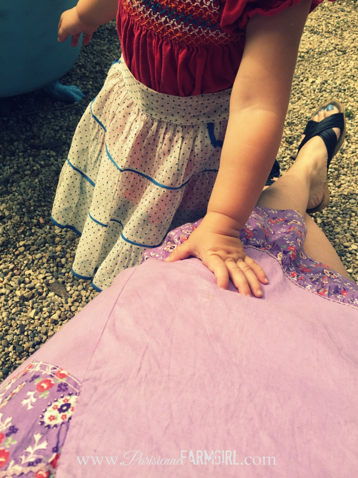 Vintage Aprons / Homemade Starch