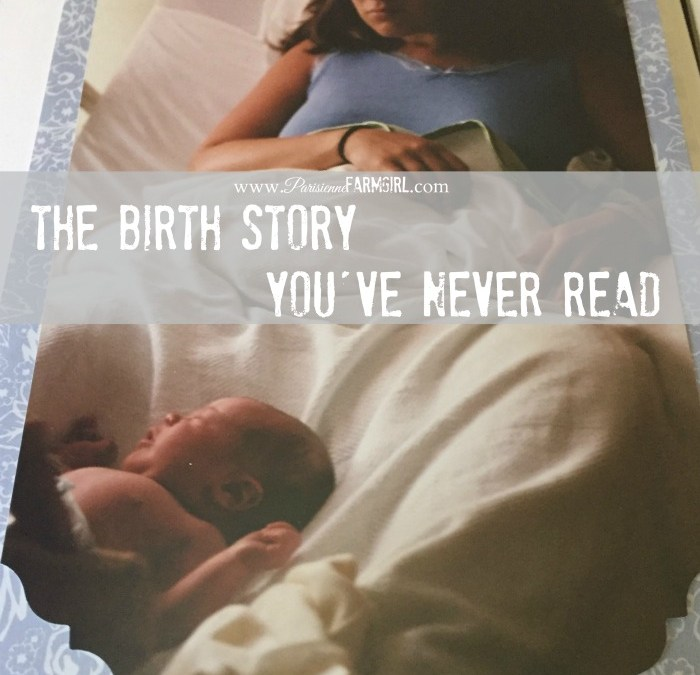 The Birth Story You've Never Read