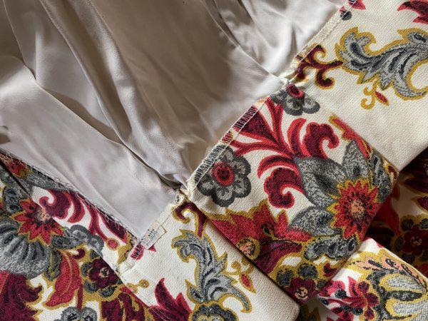 Vintage Lined Drapes