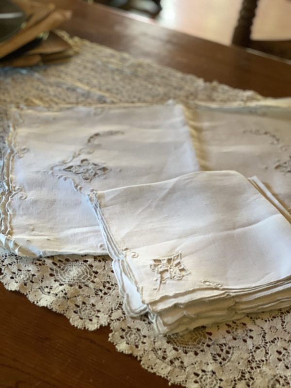 Vintage Napkins and Placemats