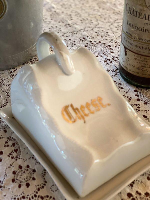 1910 German Cheese Keeper