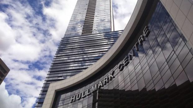 Toronto - centre ville building zoom