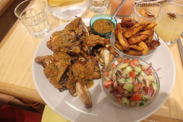 ohinene poulet braise