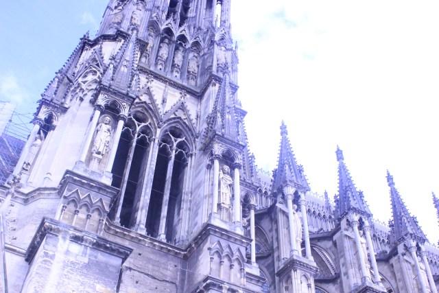 cathedrale de reims devanture