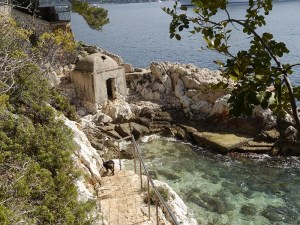Coastal path to Villefranche