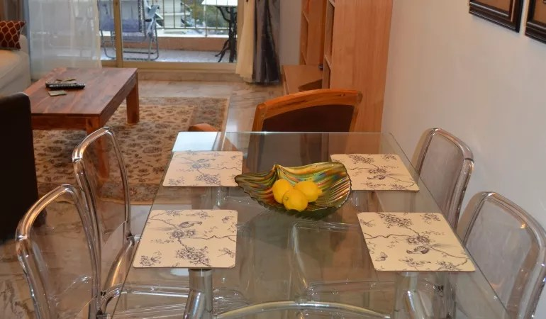 dining table-view