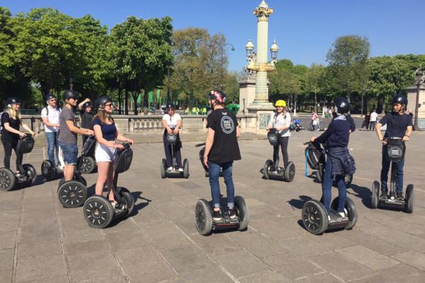 Visite de Paris en segway