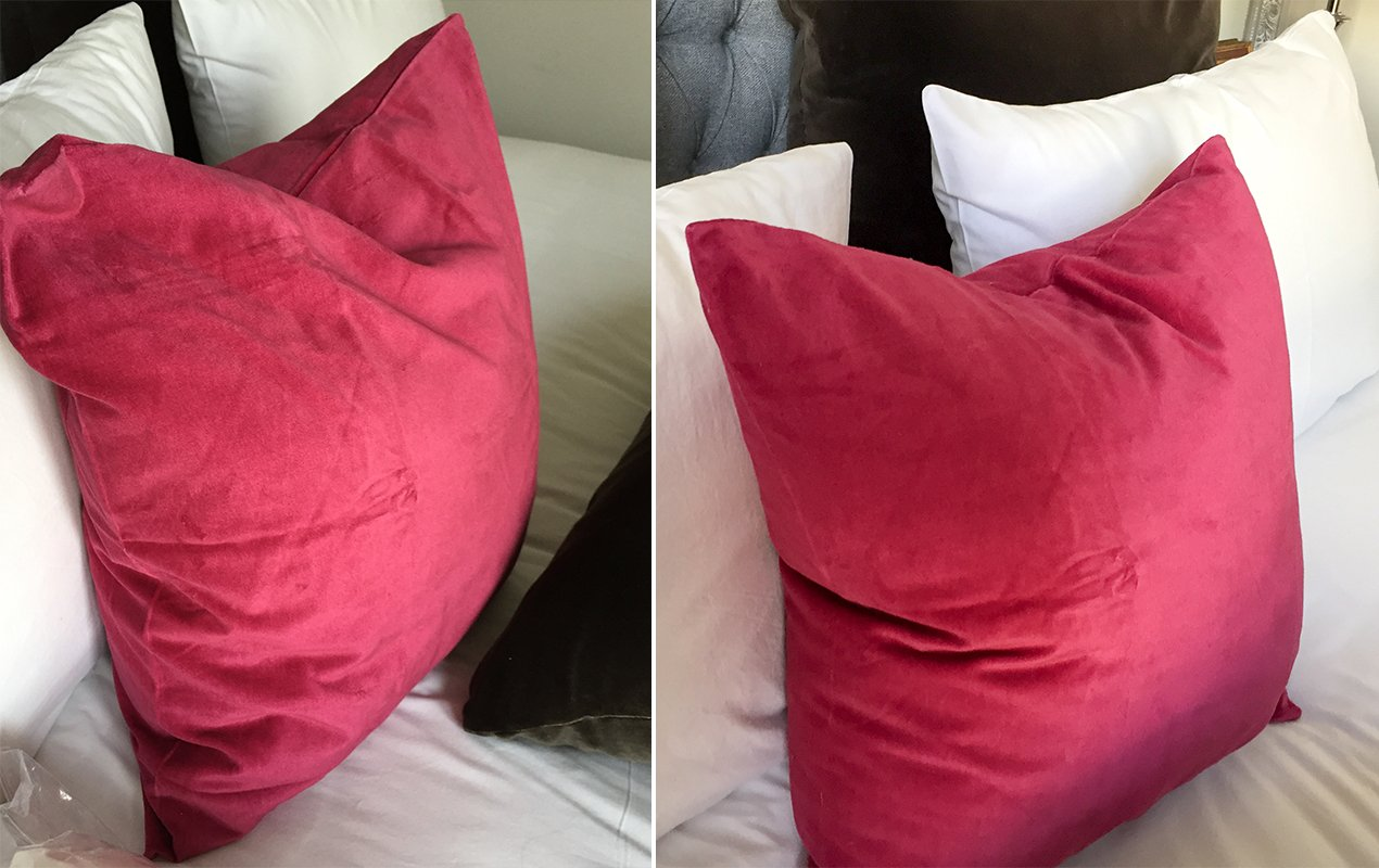 your pillows cushions look