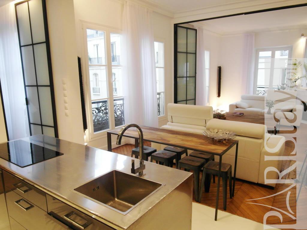 Best Kitchen Gallery: 2 Bedroom Loft Luxury Apartment Renting Grands Boulevards 75009 Paris of Paris Rental Apartments  on rachelxblog.com