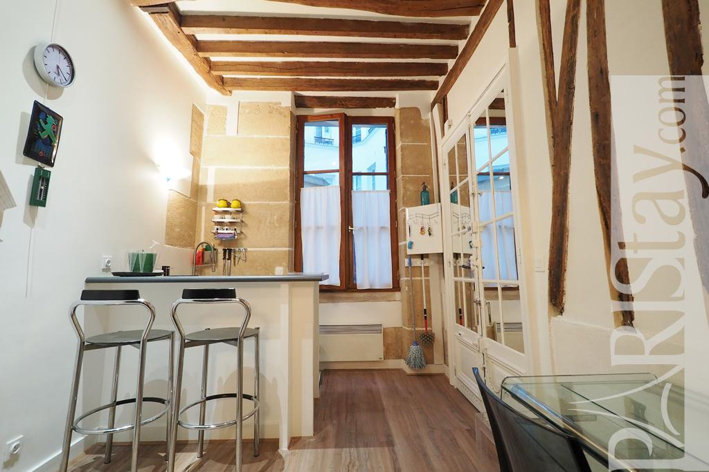 Paris Location Meuble Appartement T1 Studio Studio