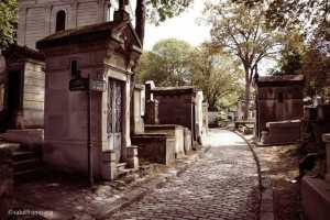Der Friedhof Père Lachaise
