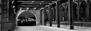 фотографировать Париж ночью
