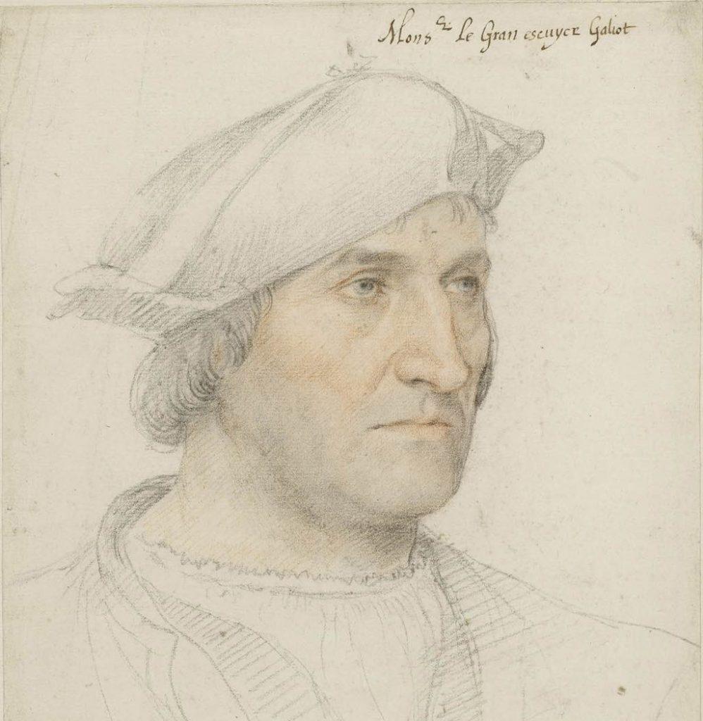 Portrait of Jacques Ricard by Jean Clouet.