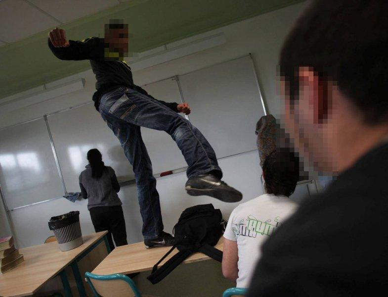 Une professeure giflée, Jean-Michel Blanquer
