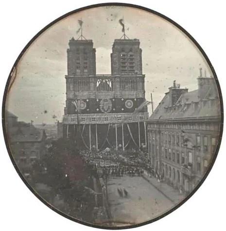 la plus ancienne photo de notre dame de paris 1842