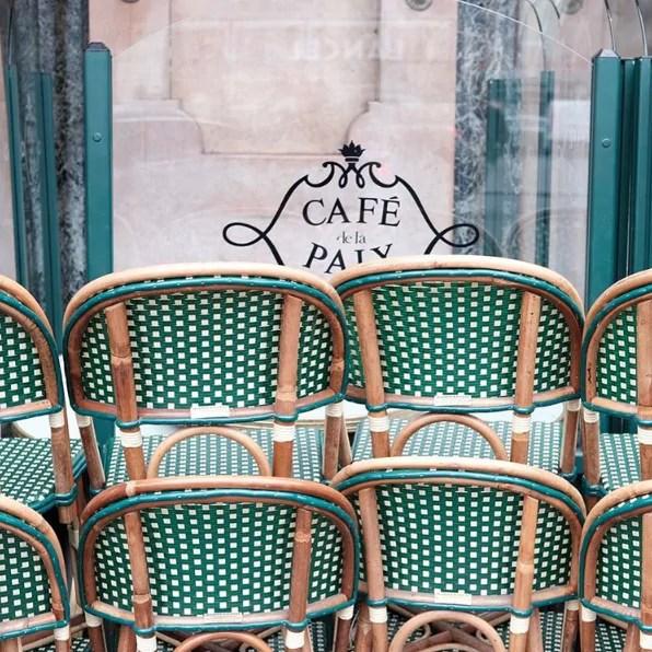 cafe paix opera paris chaises gatti