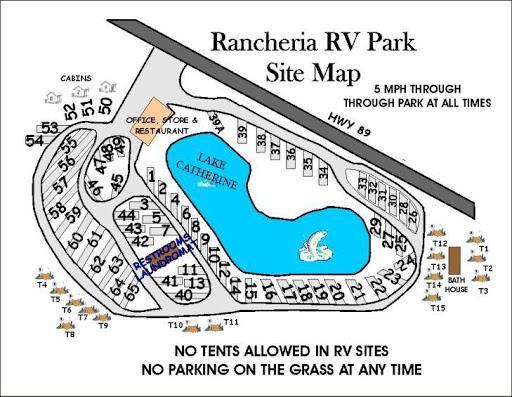 Rancheria Rv Park Hat Creek California Us Parkadvisor