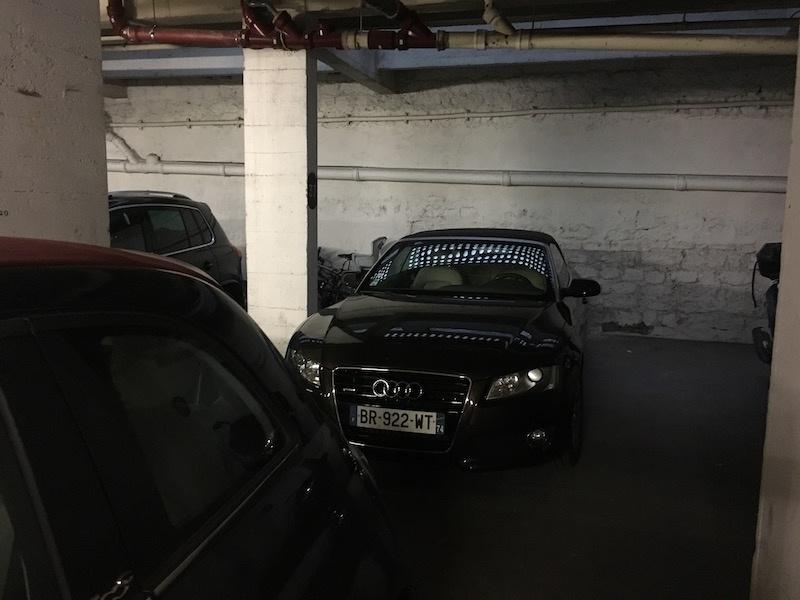 Triple parking gare de l'Est 3