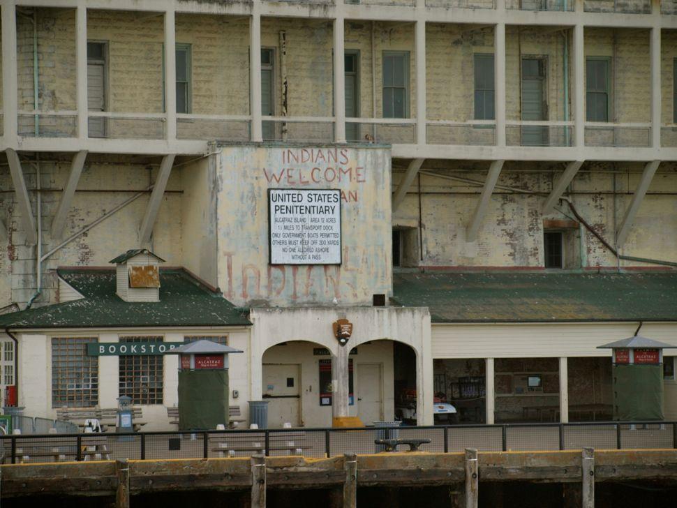Entering the Docks at Alcatraz Island
