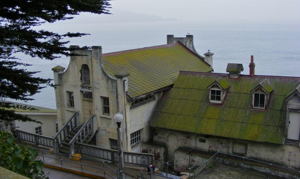 Dock at Alcatraz