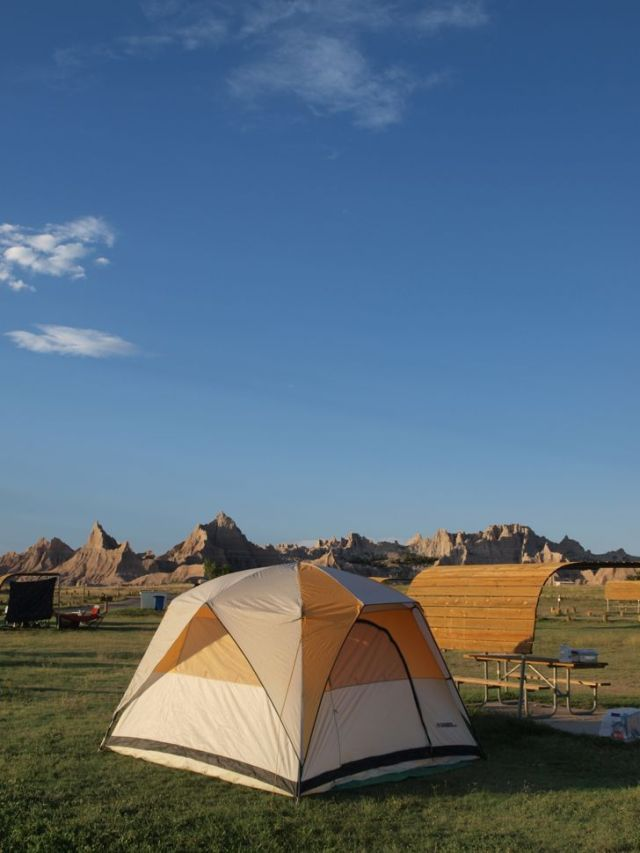 Badlands NP Campground