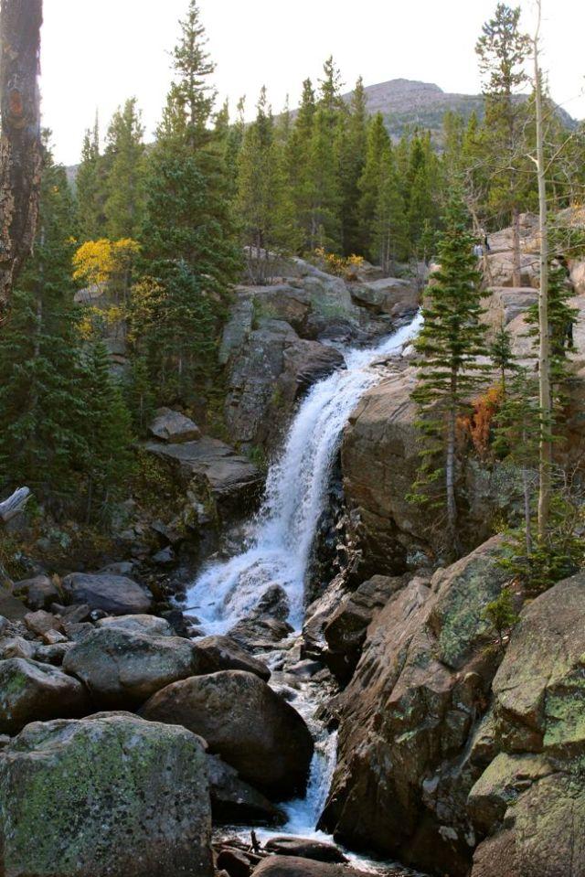 Alberta Falls - Rocky Mountain National Park