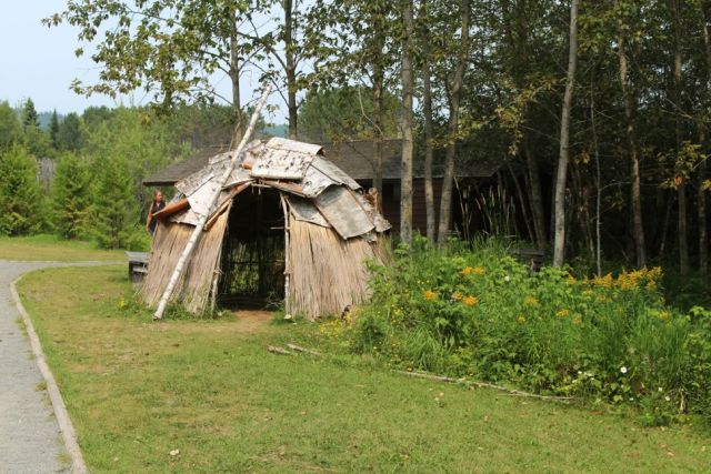 Ojibwa Home - Grand Portage National Monument