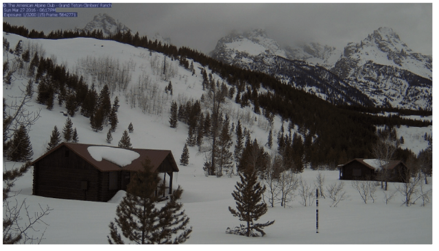 Climber's Ranch Webcam - Grand Teton National Park