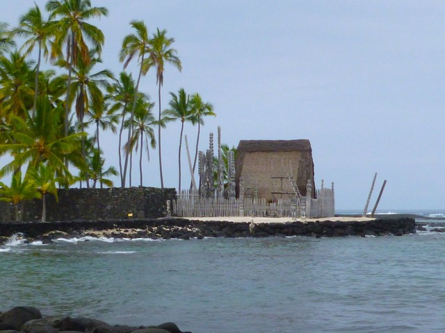 "Puuhonua o Honaunau National Historical Park means ""Place of Refuge"""