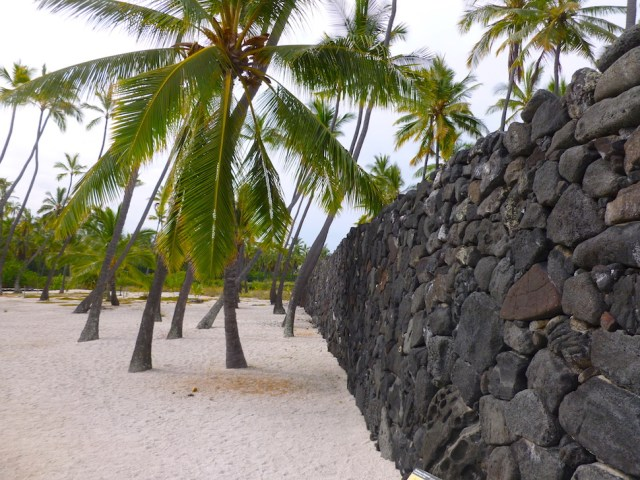 The Great Wall - Puuhonua o Honaunau National Historical Park