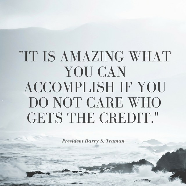 Harry S. Truman Quote