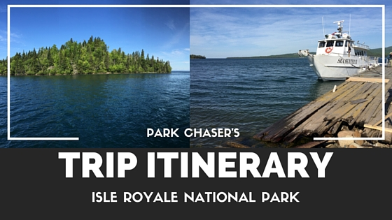 Isle Royale National Park Trip Itinerary-2