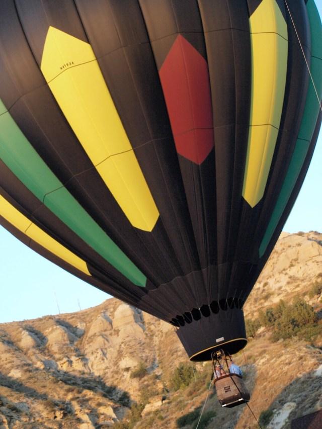 Hot Air Balloon Medora, North Dakota